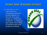 green seal estados unidos