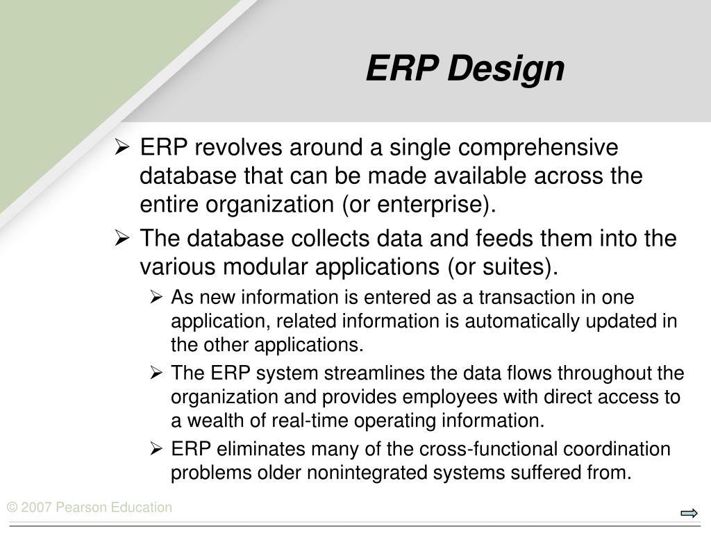 ERP Design