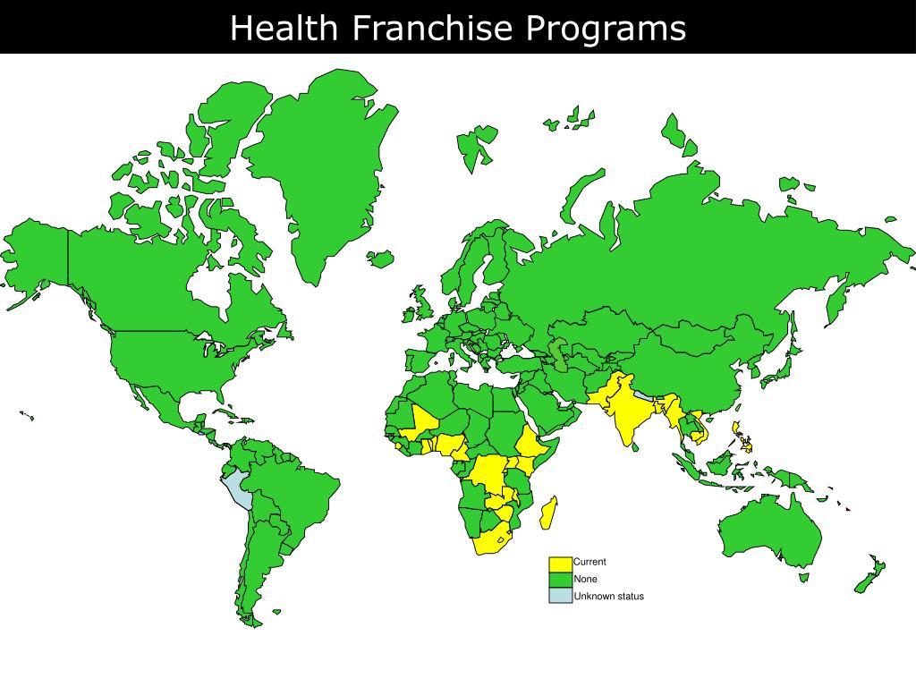 Health Franchise Programs