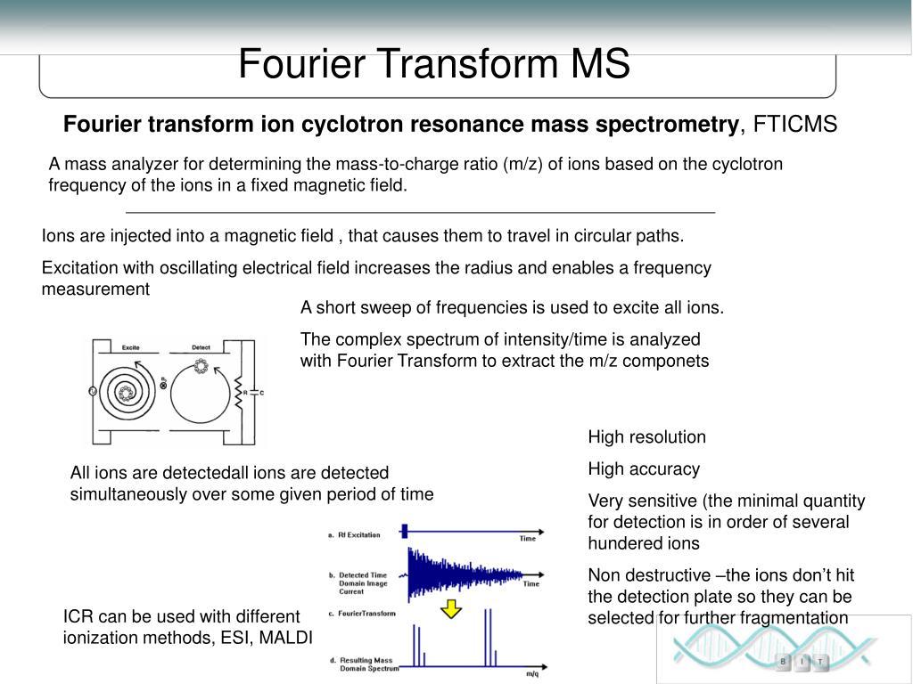 Fourier Transform MS