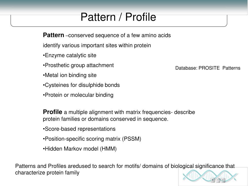 Pattern / Profile
