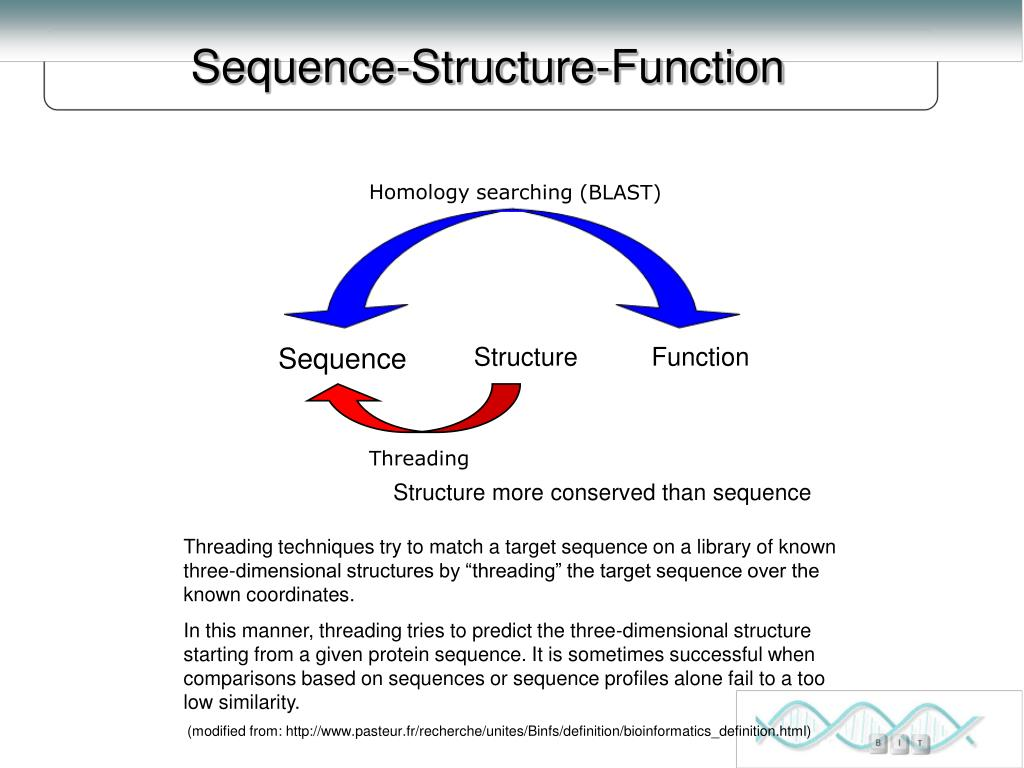 Sequence-Structure-Function