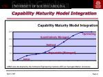 capability maturity model integration