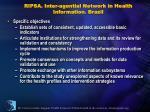 ripsa inter agential network in health information brazil