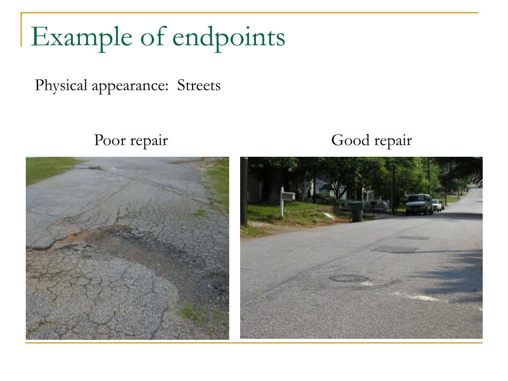 Example of endpoints