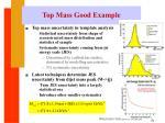 top mass good example