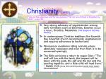 christianity contd