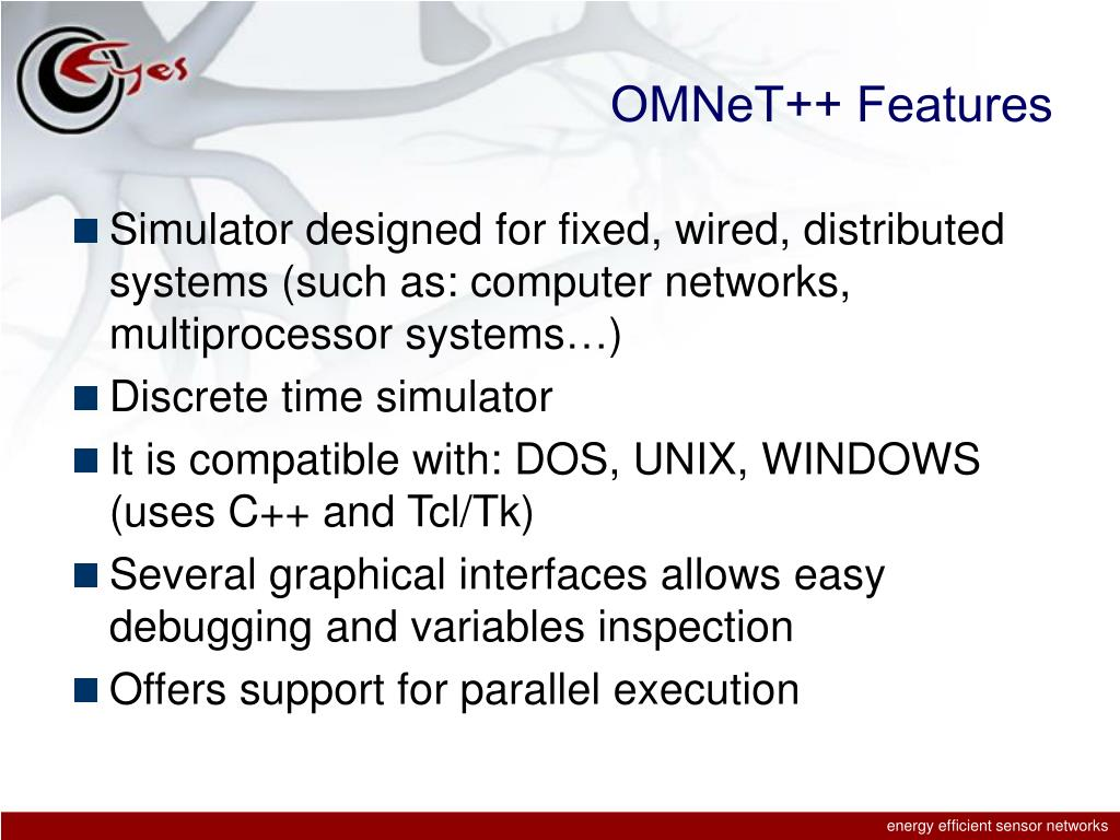 OMNeT++ Features