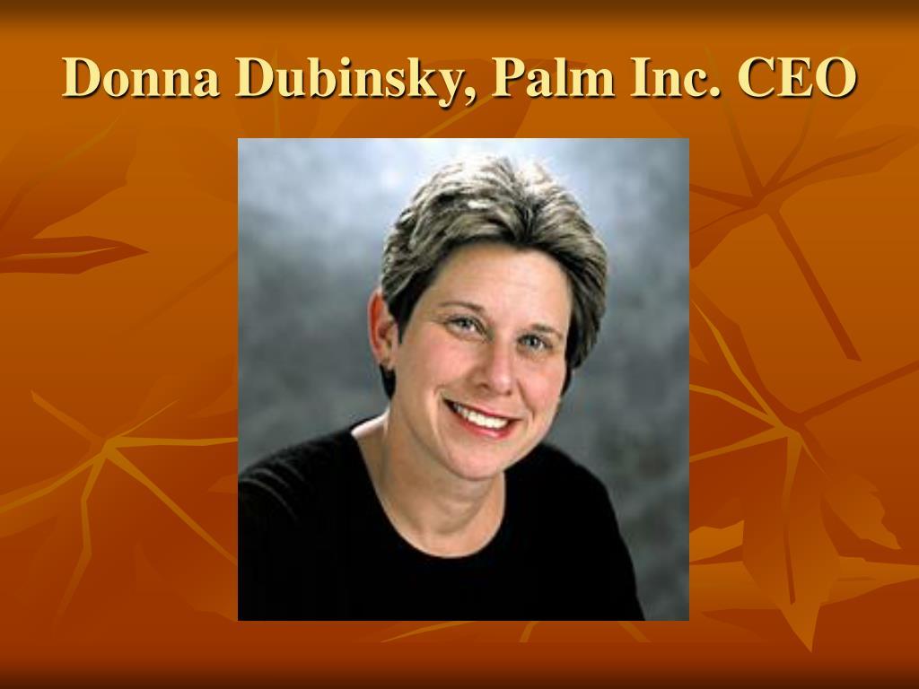 Donna Dubinsky, Palm Inc. CEO