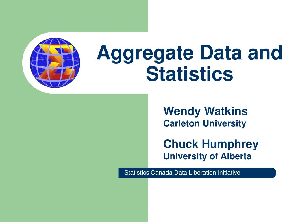 aggregate data and statistics