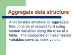aggregate data structure56