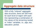 aggregate data structure61