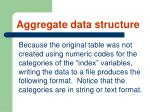 aggregate data structure64