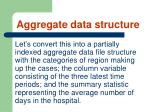 aggregate data structure77