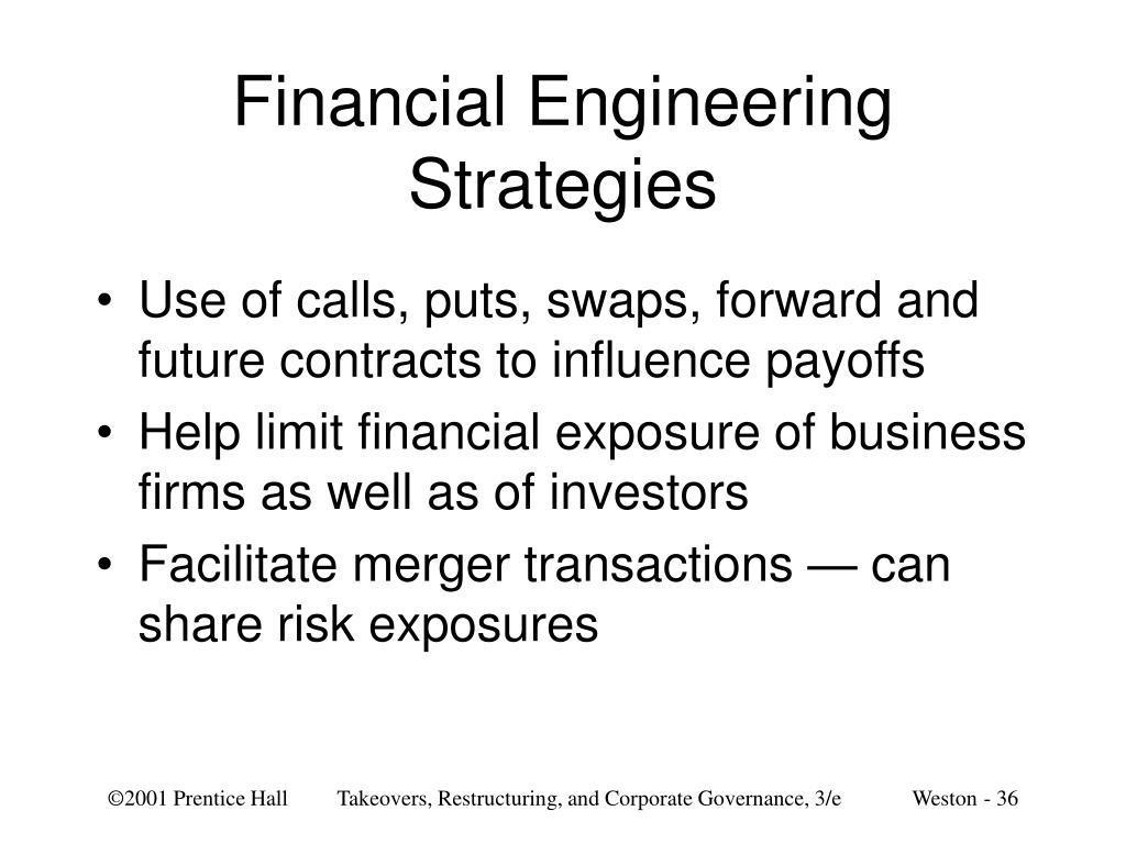 Financial Engineering Strategies
