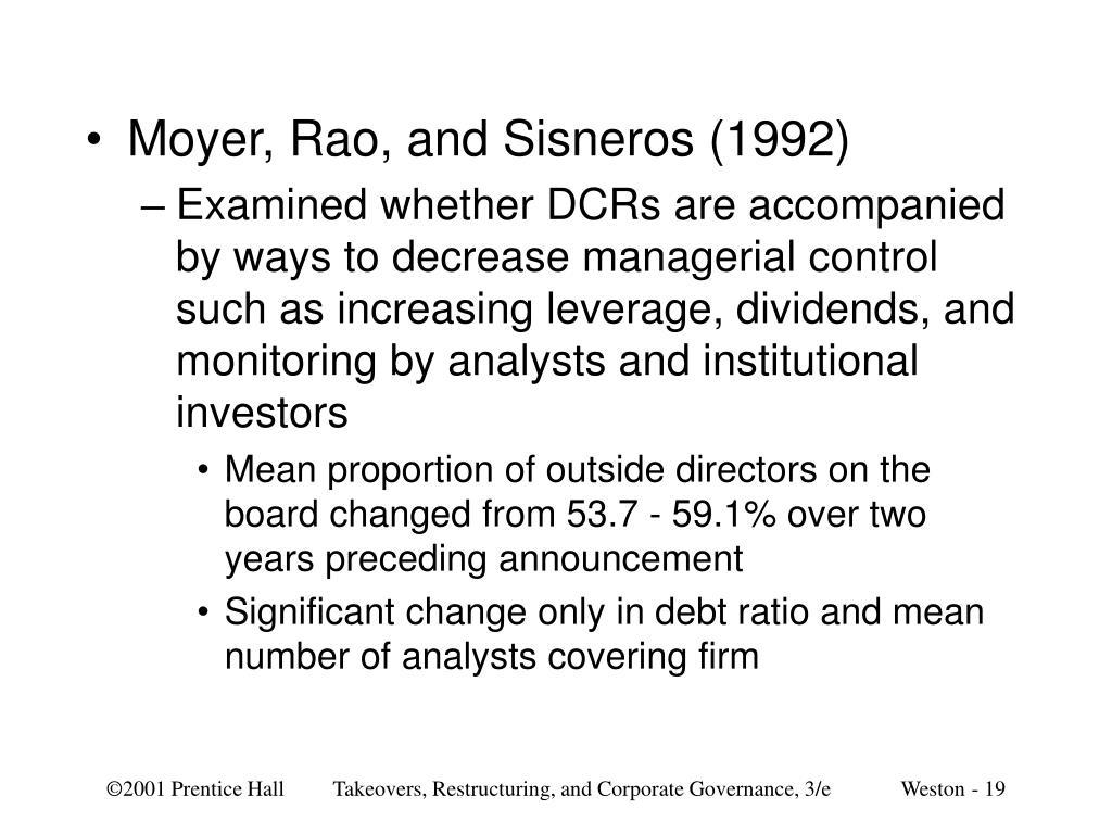 Moyer, Rao, and Sisneros (1992)