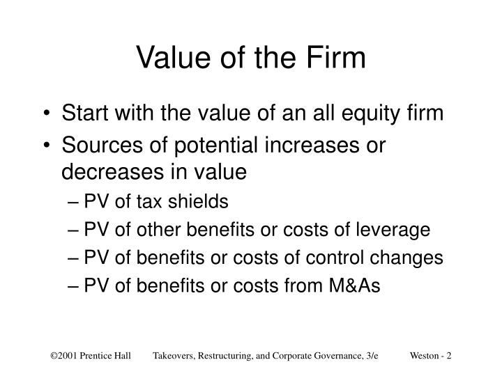Value of the firm l.jpg