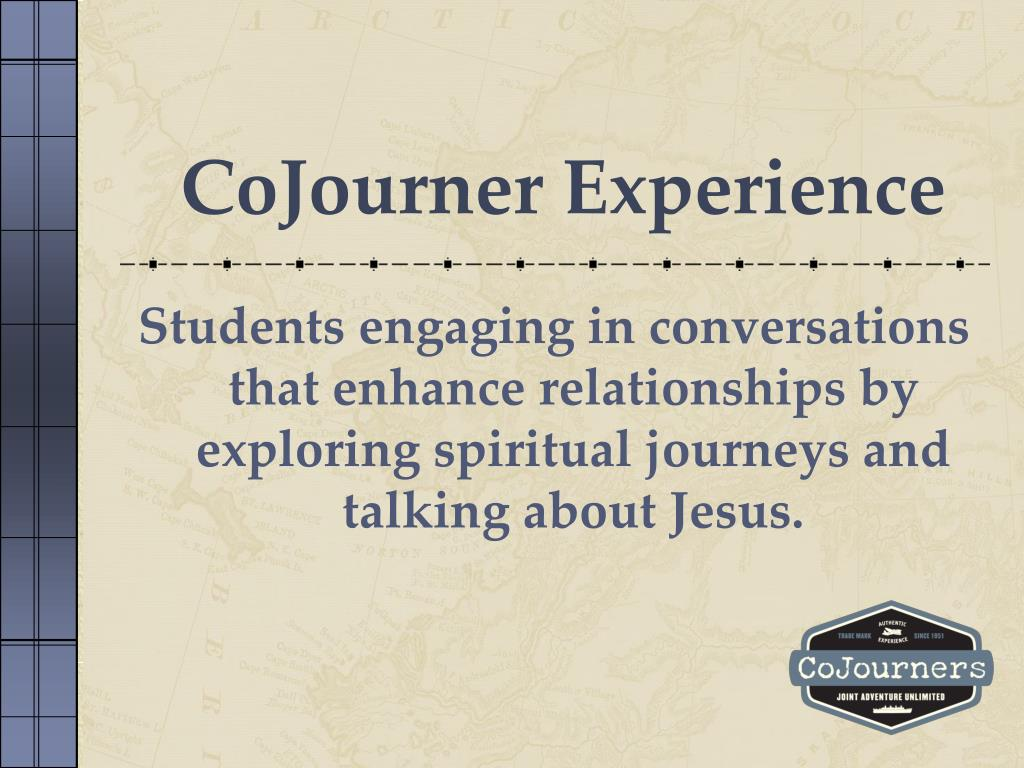 CoJourner Experience