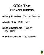 otcs that prevent illness