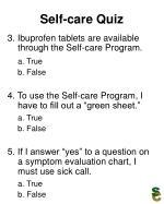 self care quiz20