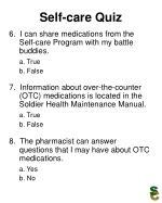 self care quiz21