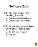 self care quiz22