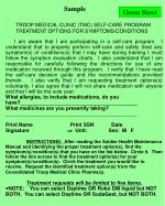 troop medical clinic tmc self care program treatment options for symptoms conditions