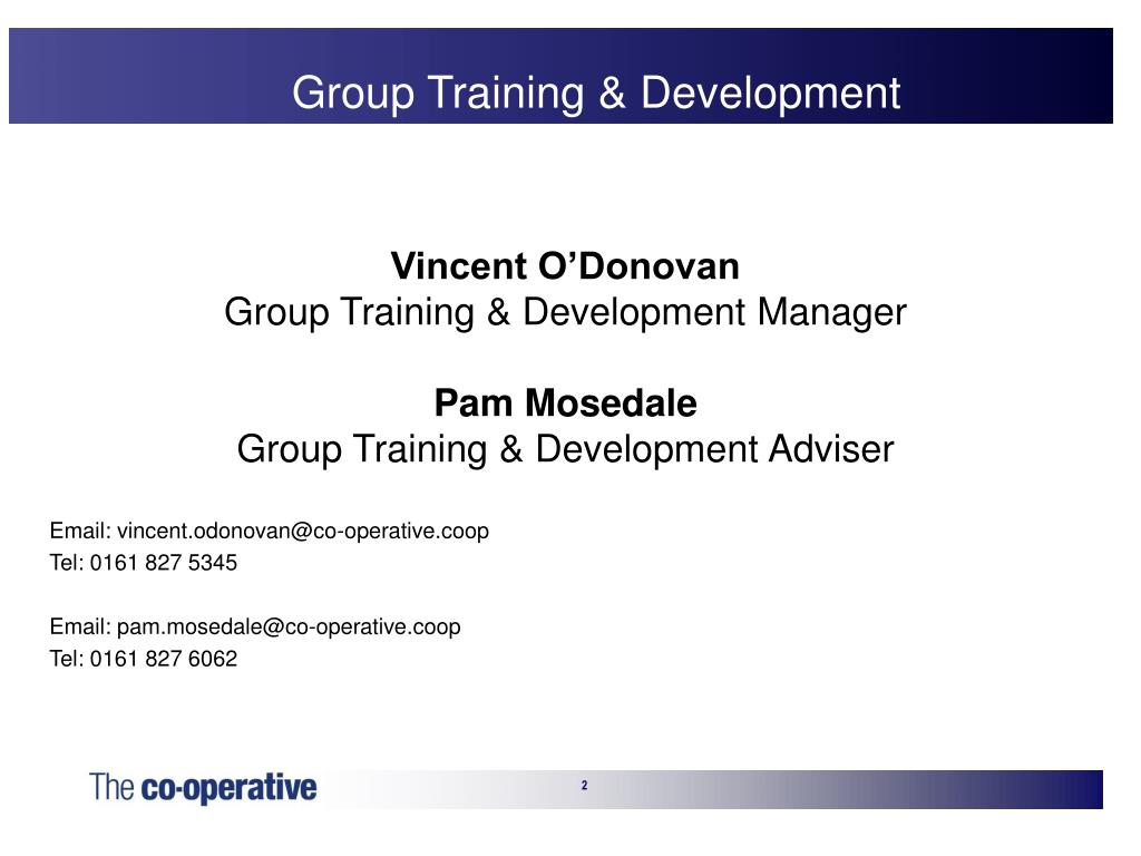 Group Training & Development
