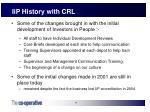 iip history with crl24