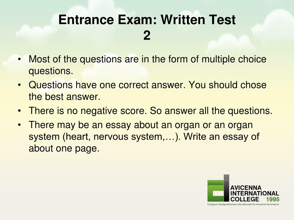 college entrance examination system essay
