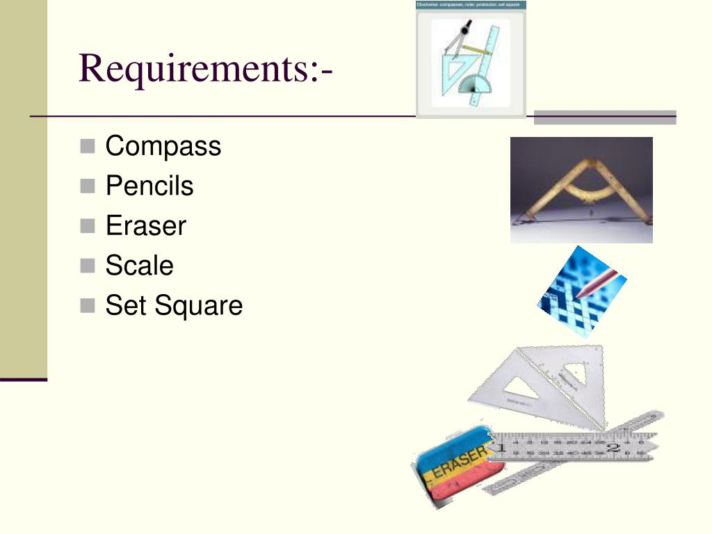 Requirements:-