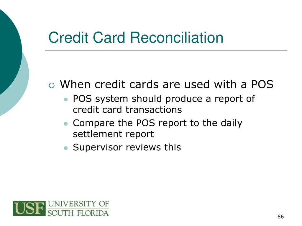 Credit Card Reconciliation