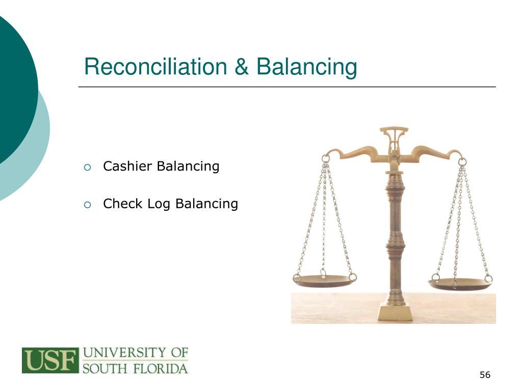 Reconciliation & Balancing