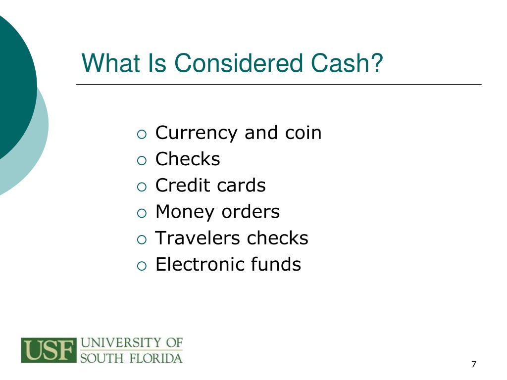 What Is Considered Cash?