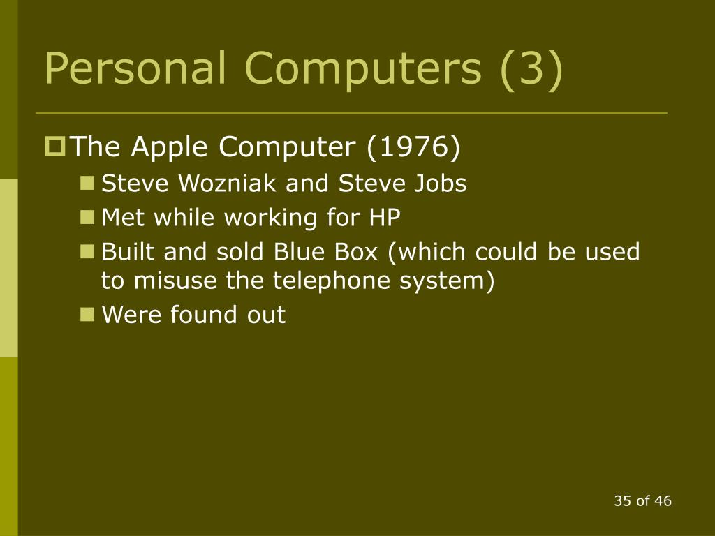 Personal Computers (3)