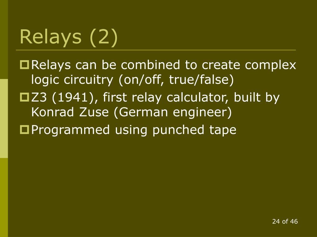 Relays (2)