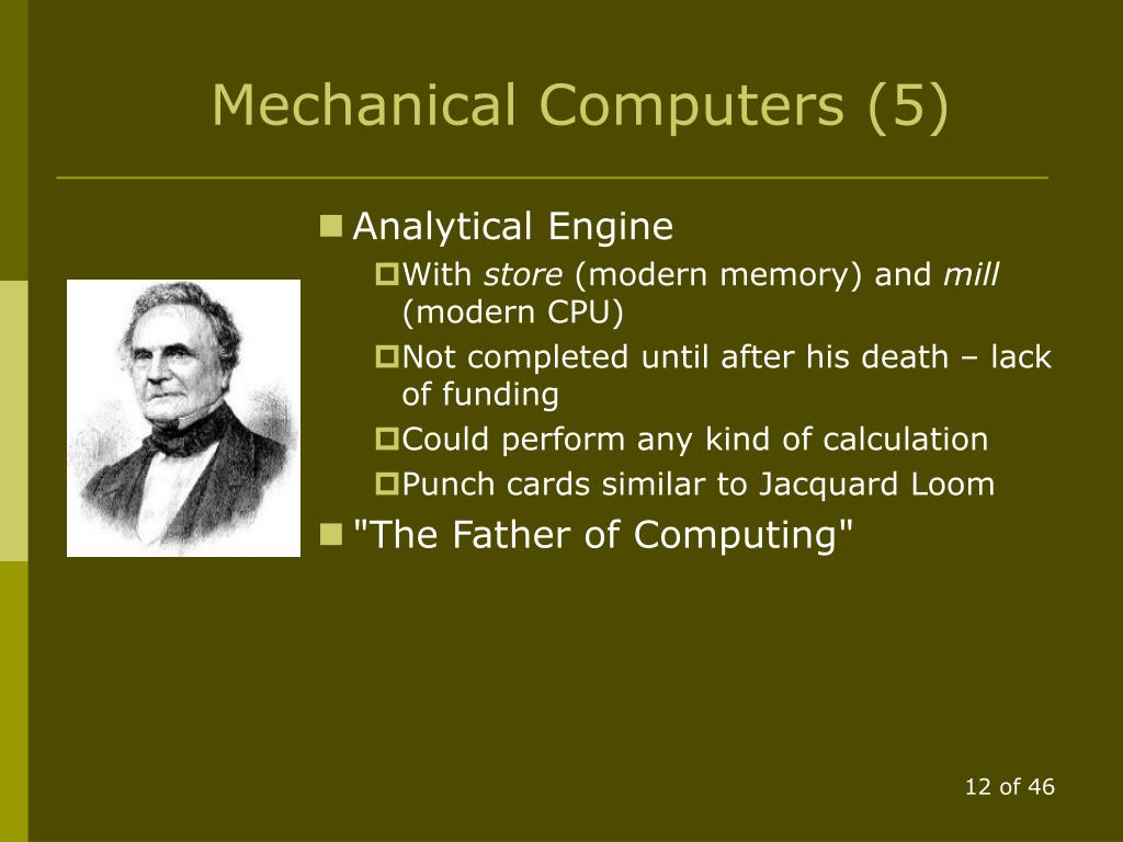 Mechanical Computers (5)