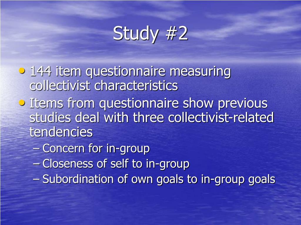 Study #2