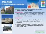 milano capoluogo della lombardia