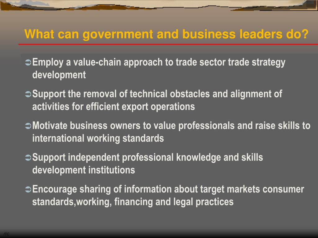 What can government and business leaders do?