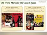 old world markets the case of japan29