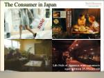 the consumer in japan
