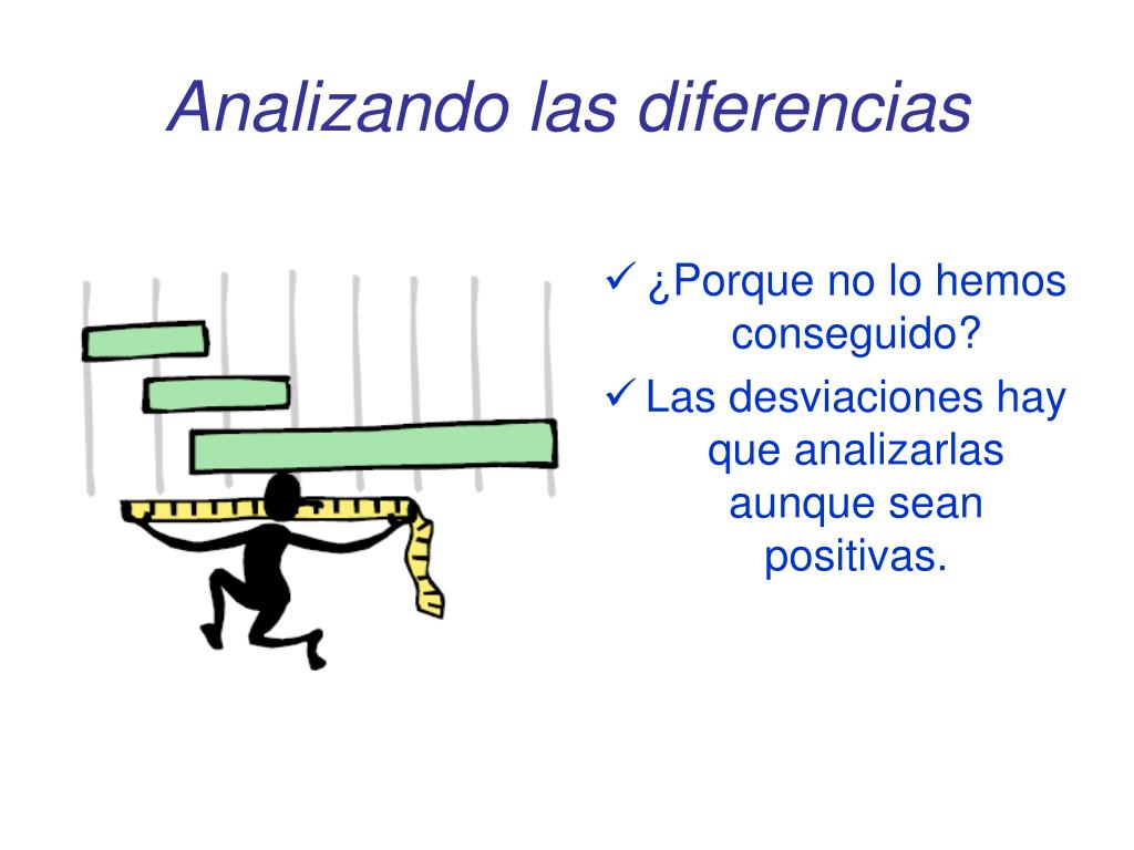 Analizando las diferencias