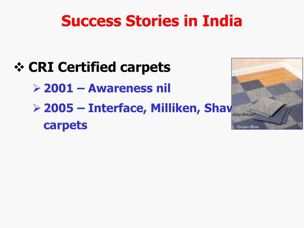 Success Stories in India