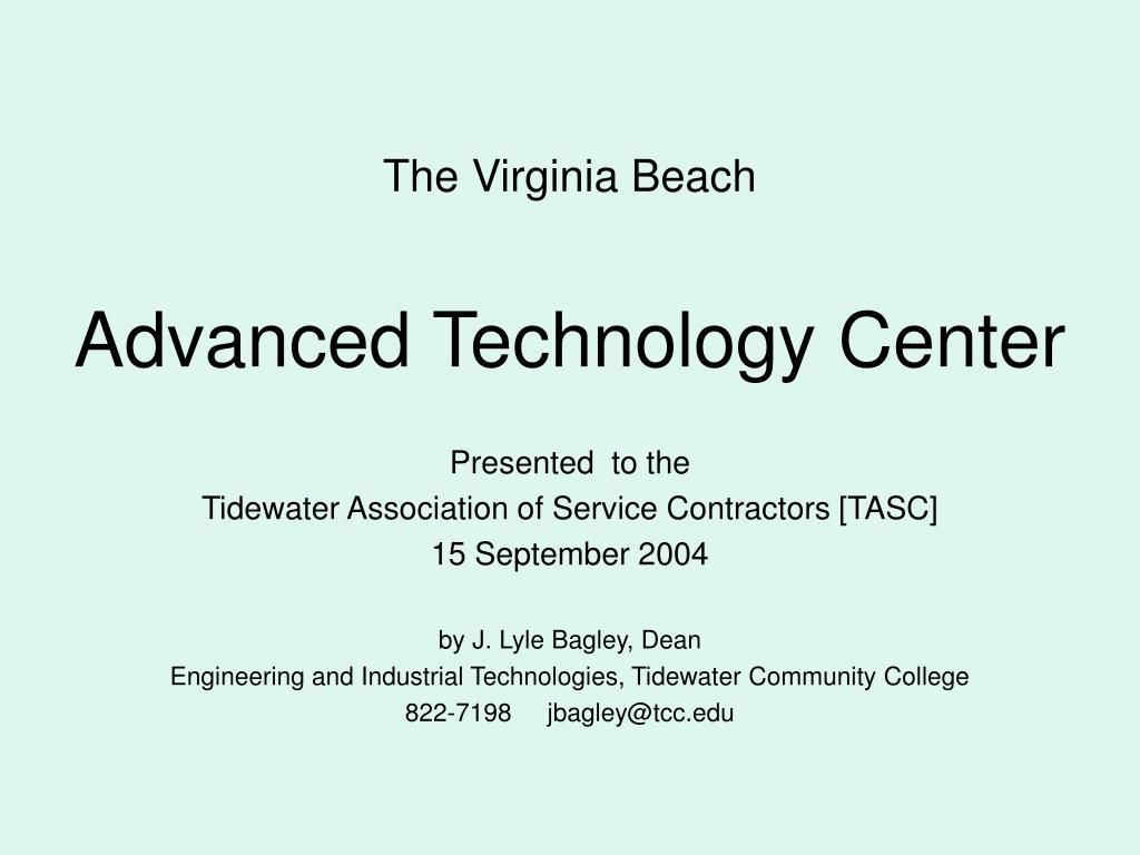 the virginia beach advanced technology center