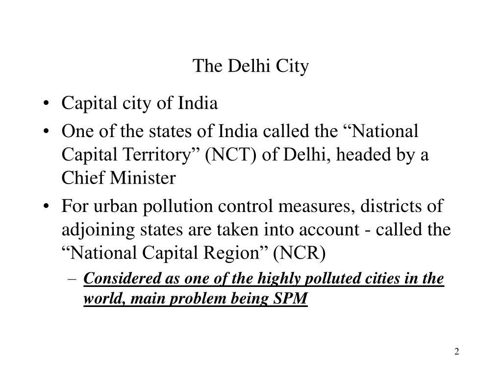 The Delhi City