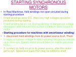 starting synchronous motors13