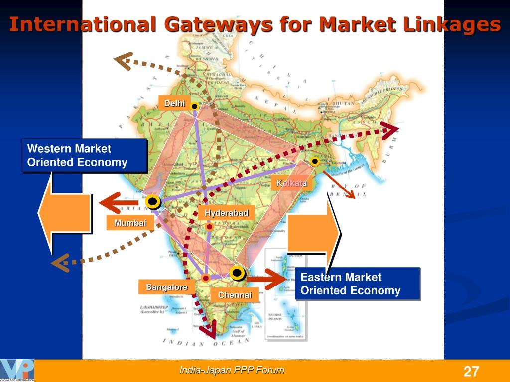 International Gateways for Market Linkages