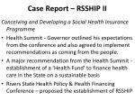 case report rsship ii