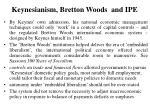 keynesianism bretton woods and ipe